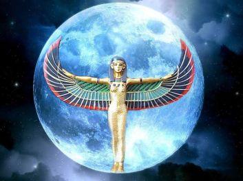 Resultado de imagen de luna azul de isis