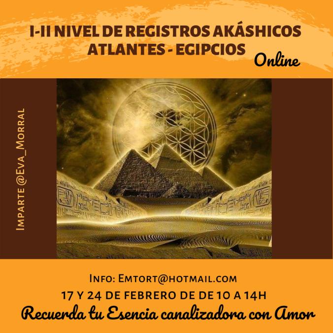 I-II Nivel de Registros Akáshicos Atlantes- Egipcios